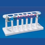 Test Tube Stands:- 6 Hole Test Tube Stand