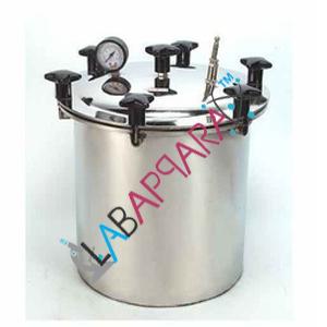 Autoclave Single Drum, science lab equipment, Scientific Instruments, Laboratory equipment suppliers, lab equipment manufacturers, lab equipment, scientific lab equipment, laboratory equipment manufacturers, ambala.