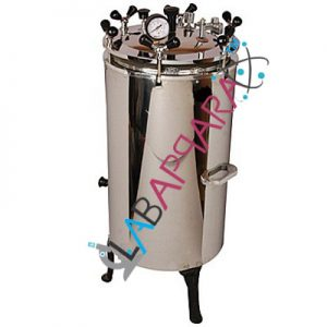 Autoclave (Electric, Vertical Single Chamber), laboratory equipment manufacturers, Educational Scientific Instruments, laboratory equipment.