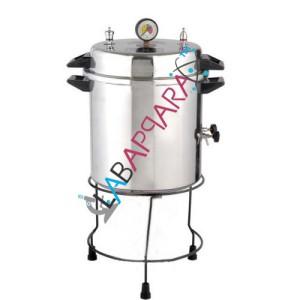 Autoclave(Non electric, Cooker Type), laboratory equipments, laboratory glassware equipments exporter, ambala.