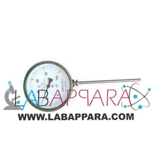 Bi- Metal Dial Thermometer Bottom Connection Vertical Type, manufacturer, exporter, supplier, distributor, ambala, india.