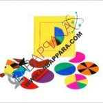 Flip N Fraction Geoboard With Circle Cuts