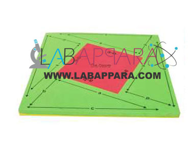 Pythagoras Theorem by Reverse Method, Mathematics Laboratory Equipment, Educational Equipments, manufacture exporters, Pattern Block, Educational Maths Lab instruments, Mathematics Laboratory Equipment,Educational Equipments, manufacture exporters, School equipments, Supplier Exporter, educational equipments, india