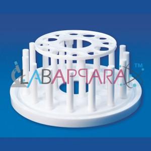 Round Test Tube Stand, manufacturer, supplier, exporter, distributors, Educational Instruments, scientific instrument exporters.