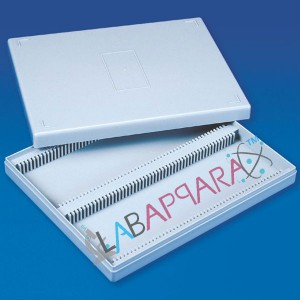 Slides Box 100 Slides, science lab equipment, Chemistry Equipments, Educational Equipments, manufacturer.