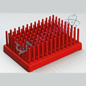 Test Tube Peg Rack, science laboratory equipments, educational instruments manufacturer, exporter.