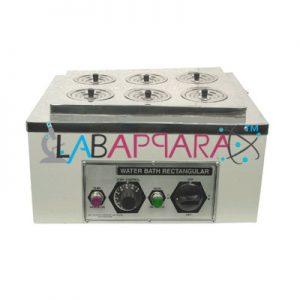 WATER BATH 6 HOLE, Educational Instruments, Testing Lab Equipment