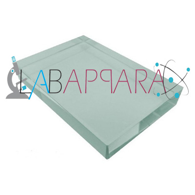 glass slab,Physics Optical Equipment, scientific equipments, educational instrument supplier, testing equipment, Laboratory equipment suppliers, glass lab equipment manufacturers, wooden laboratory equipment, science instruments manufacturer, supplier, exporter.