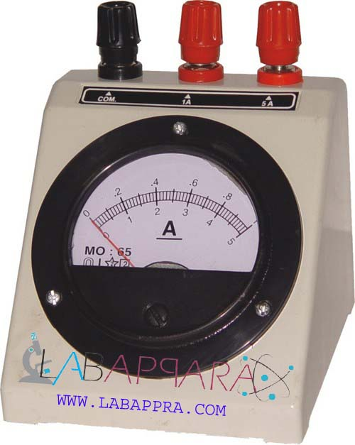 Ammeter For Science : Ammeter laboratory physics equipments manufacture