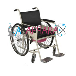 Wheel Chair With Cushion, Medical instruments supplier, Laboratory equipments exporter, biological instruments