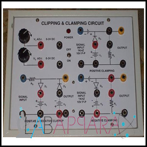 Clipping & Clamping Circuit Apparatus, Manufacturer, Exporter, Supplier, Distributor, ambala, india.