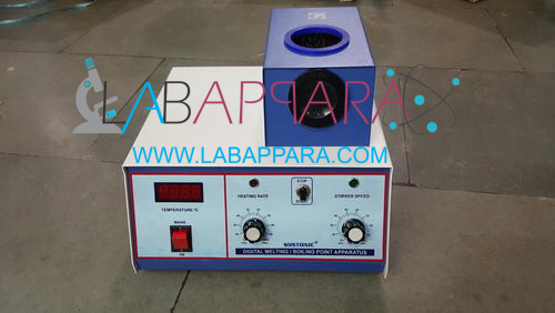 Digital Melting Point Apparatus, Manufacturer Supplier, Exporter, ambala, india.