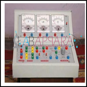 Half Wave Full Wave Bridge Rectifier Apparatus, Manufacturer, Exporter, Supplier, Distributor, ambala, india.