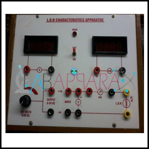 L.D.R. Characteristics Apparatus, Manufacturer, Exporter, Supplier, Distributor, ambala, india.