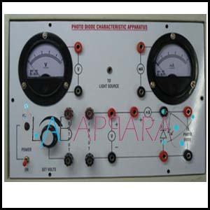Photo Diode Characteristic Apparatus, Manufacturer, Exporter, Supplier, Distributor, ambala, india.