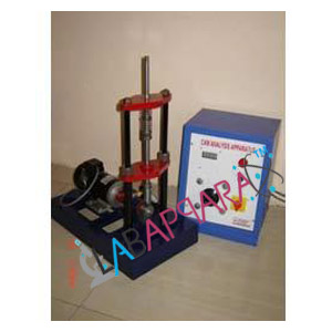 CAM ANALYSIS APPARATUS, Mechanical Engineering, Scientific Instruments.