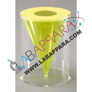 Cone In Cylinder, Detachable- Mathematics Lab Equipments,