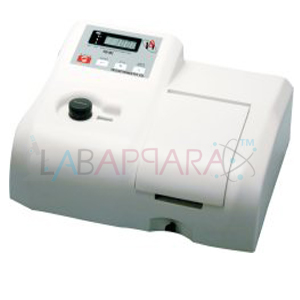 SINGLE BEAM UV-VIS SPECTROPHOTOMETER, science lab equipment, Laboratory equipment