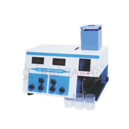 flame photometer double display