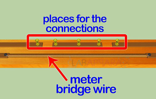 Meter Bridge-Resistance of a wire experiment manufacturer, exporter, supplier, india.