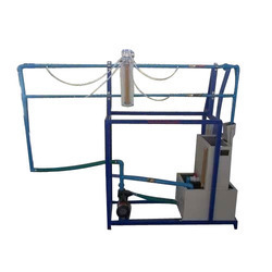 Friction In Pipes Line Apparatus manufacturer, scientific instrument supplier